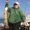 My Mom's 9lb Walleye 2011